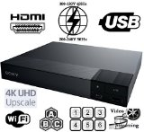 【日本語メニュー】SONY BDP-S6700 リージョンフリーDVD・ブルーレイ プレーヤー 【Wi-fi機能・4Kアップスケーリング・ファームアップ対応モデル・PAL/NTSC対応・リージョンフリー済・電圧世界対応】HDMIケーブルセット (並行輸入品)