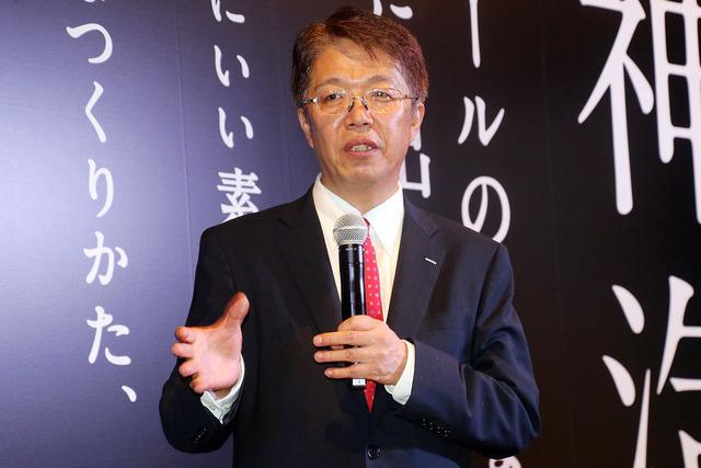 サントリービール株式会社代表取締役社長山田賢治氏