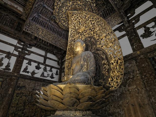仏師 定朝作の御本尊「阿弥陀如来像」