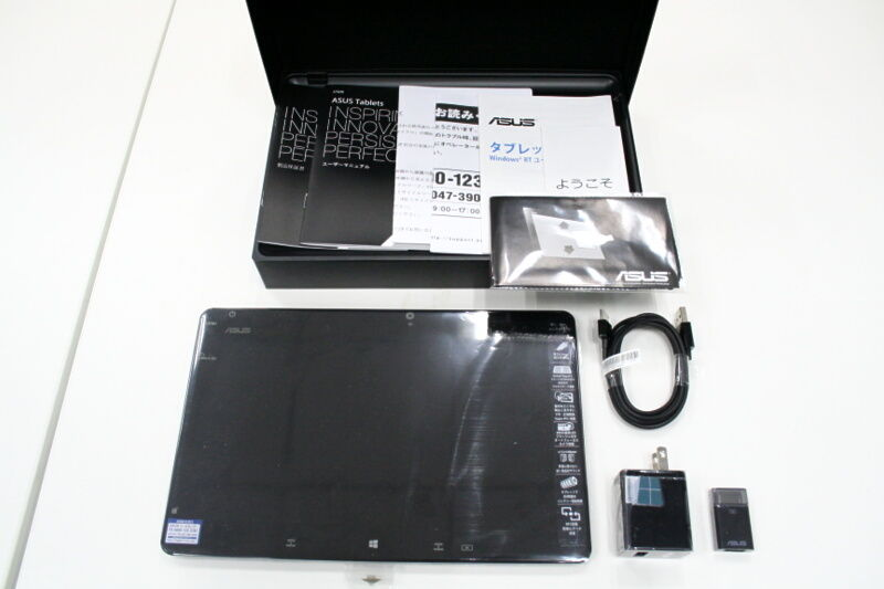 ASUSのWindows RT搭載タブレット! ASUS VivoTab RT TF600T開封レポ