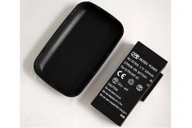 Ultra WiFi 4Gをより長く使う裏技!Ultra WiFi 4G 101SI 用大容量バッテリー【モバステ通信】