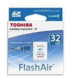 東芝 無線LAN搭載 SDHC FlashAir Class10 32GB SD-R032GR7AL