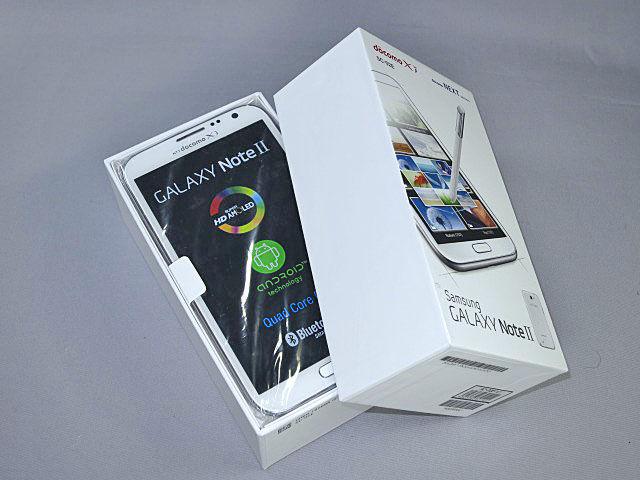 発売日に入手成功! 全部入りで、より高速に魅力を高めた「GALAXY Note II SC-02E」開封レポ