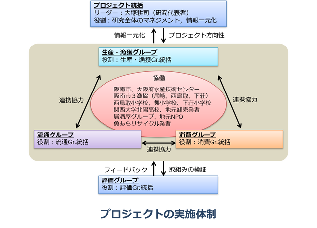 Project implementation system