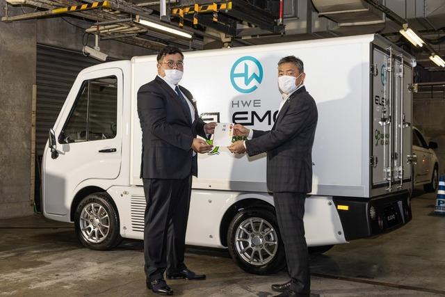 小型電気商用車「ELEMO」メディアラウンドテーブル