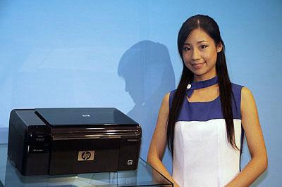日本HPの新プリンター発表会