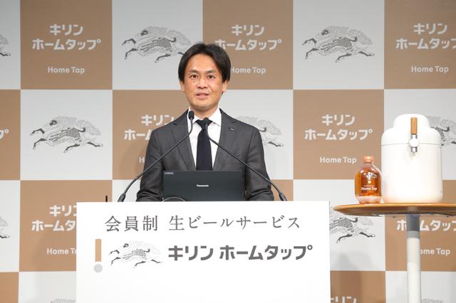 キリンビール株式会社 常務執行役員 事業創造部長 山形光晴氏