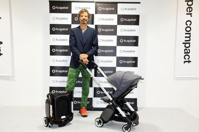 「Bugaboo ant」をお披露目