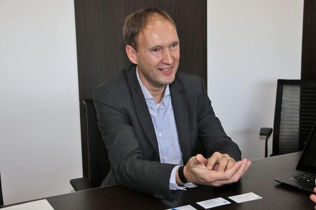 日本市場について語る、Acer CMOのMaarten Schellekens氏