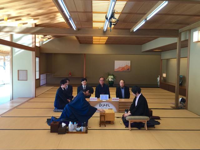 赤坂迎賓館対局室