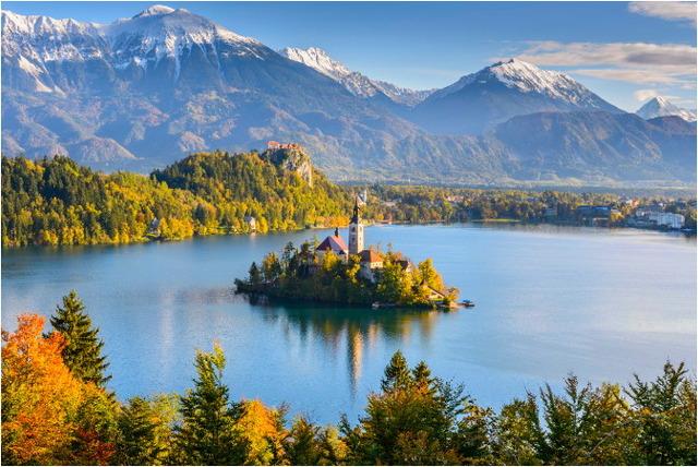【ブッキング・ドットコム】ブレッド湖(スロベニア)