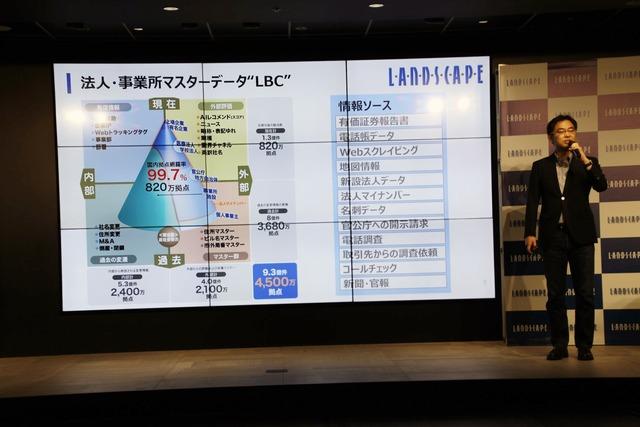 法人・事業所マスターデータ「LBC」の説明