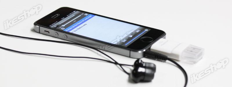 microSDからデータをコピーせずにカードリーダーから直接音楽や動画を再生できる。