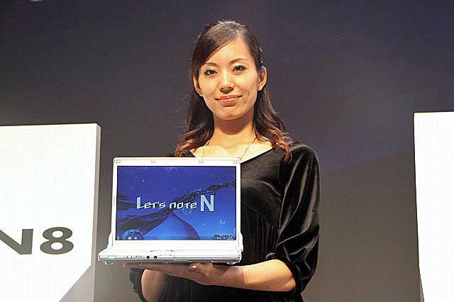 新Let's note「N8シリーズ」