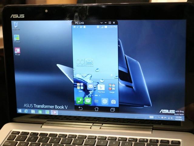 PC Link機能でスマートフォン側の操作も可能