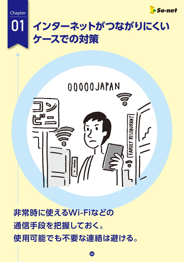 ソネット防災マニュアル③