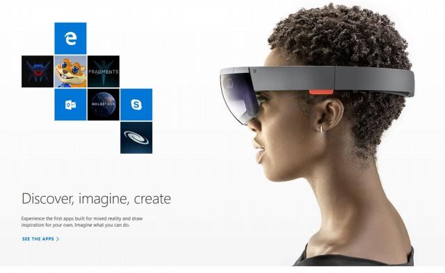 自己完結型ホログラフィックコンピューター「Microsoft HoloLens」