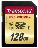 Transcend SDXCカード 128GB UHS-I U3対応 (最大読込速度95MB/s,最大書込速度60MB/s) U3シリーズ 4K動画撮影 無期限保証 TS128GSDU3