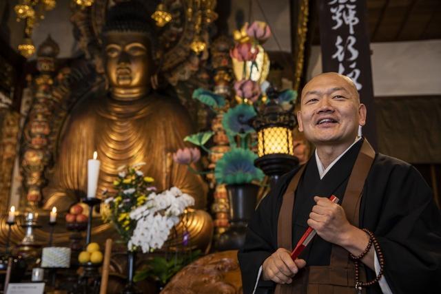 京都最大級の阿弥陀如来像を祀る「転法輪寺」