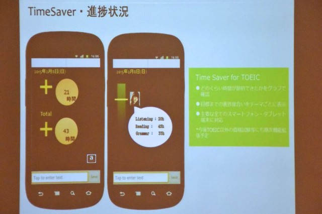 目標達成のための時間管理アプリ「Time Saver」