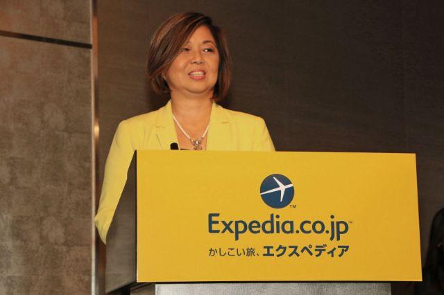 エクスペディア・アジア地域CEO Kathleen Tan氏
