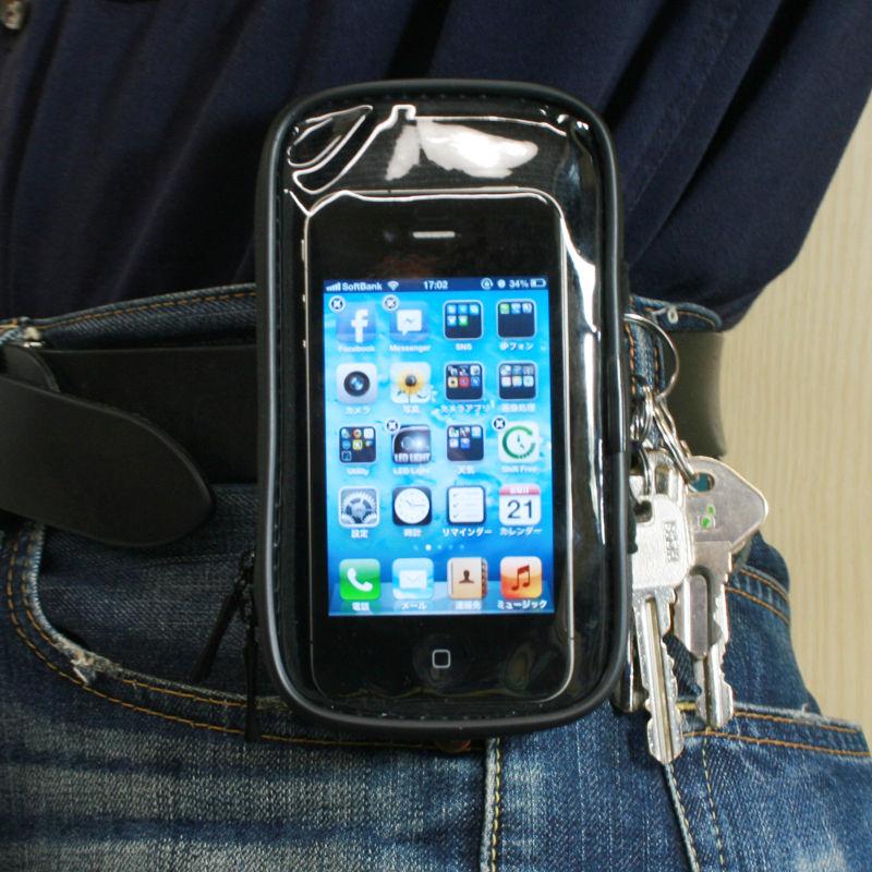 iPhone 5もGALAXY SIIIにも対応!自転車用のモバイルマウントホルダー【イケショップのレアもの】