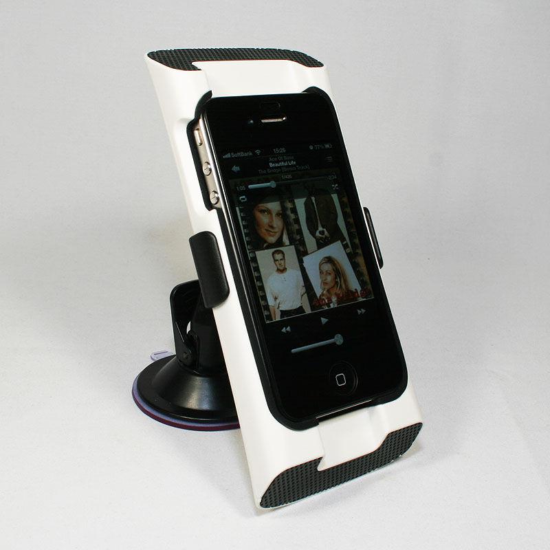 まだまだ現役iPhone 4/4Sをマウントできて音もリッチにしてくれるホルダー【イケショップのレア物】