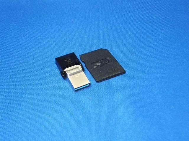 USB3.0対応となった「新DataTraveler microDuo」