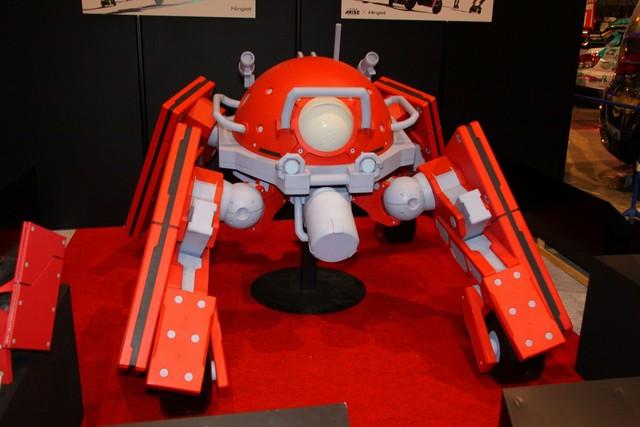 攻殻機動隊ARISEに登場するロジコマの等身大模型