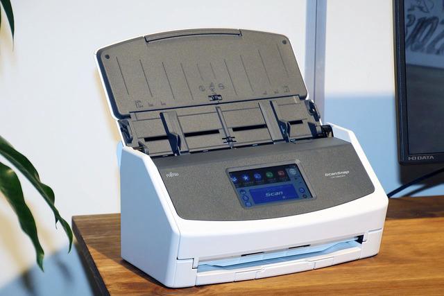 劇的に進化したスキャナー「ScanSnap iX1500」