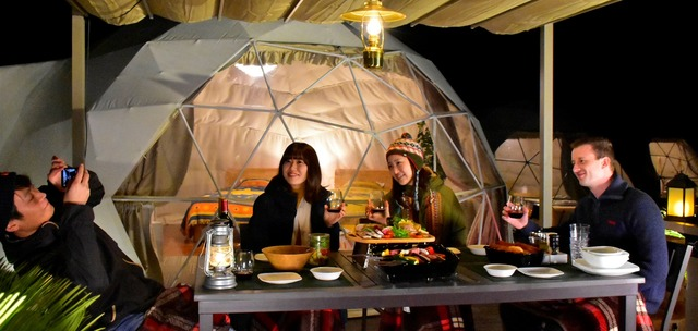 Photo of Glamping facility opens at Izu Cactus Animal Park Group Official Hotel!