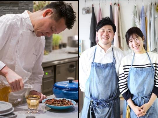 下野昌平さんと、簡単で美味しいレシピのプロ「ぐっち夫婦」
