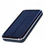 ソーラーチャージャー スマホ用充電器 ChargerImpact・Solar3500 ブラック 3500mAh