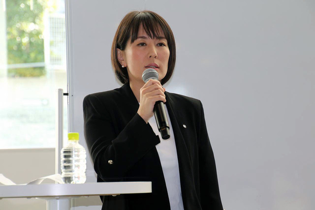 日産自動車日本ブランディング本部ブランド&メディア戦略部松井眞依子氏