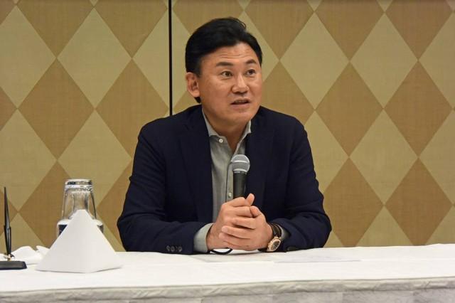 楽天株式会社 代表取締役会長兼社長 三木谷浩史 氏