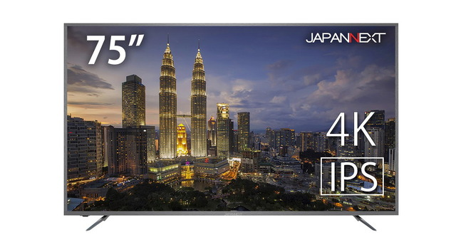 """Photo of Large-screen display will be available at a reasonable price until Monday, June 8! Large 75-inch 4K LCD """"JN-IPS7500TUHD"""" from JAPAN NEXT"""