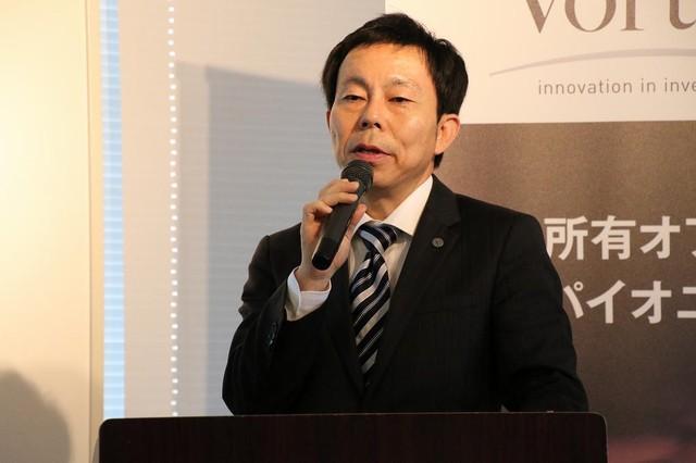 株式会社ボルテックス代表取締役宮沢文彦氏
