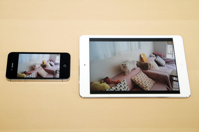 iPhone動画は迫力の大画面で!iPad mini 徹底活用術