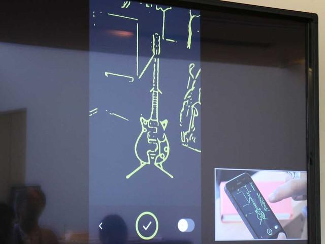 iPhoneで撮影したデータからカスタムシェイプを作成