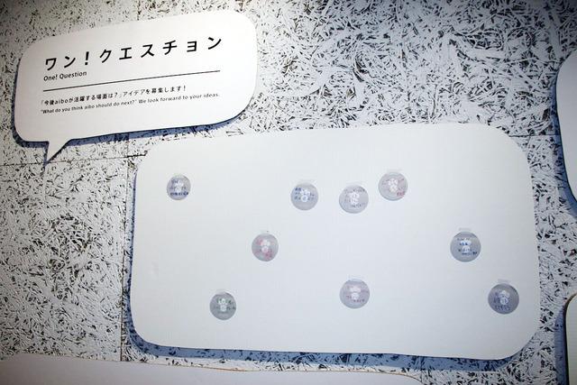 aiboが活躍する場面のアイデアを貼れる「ワン!クエスチョン」