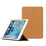 【日本正規代理店品】TUNEWEAR LeatherLook SHELL for iPad mini 4 ブラウン TUN-PD-100067