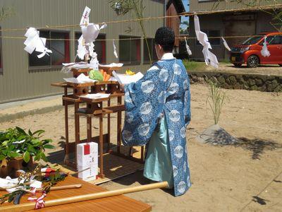 浅田邸地鎮祭2
