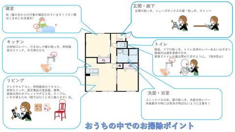 コロナ・ウイルス対策お掃除編-1