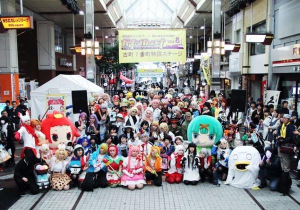 新潟市がマンガとアニメ一色に染まる2日間!今年も開催!『がたふぇすvol.9(にいがたアニメ・マンガフェスティバル)』どこかしらの会場でなにかしらで楽しめる!10月20〜21日。