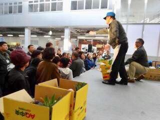 今年も開催!新鮮!楽しい!美味しい!が凝縮!!『新潟市中央卸売市場』で『市場まつり』&『江南区旬果旬菜いきいきフェスタ』の2大イベント開催!10月14日。