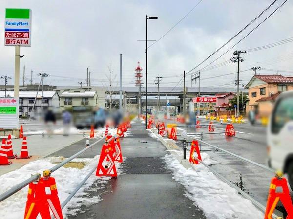 5月開通決定!新潟駅南北の交通が便利に!駅南から駅前間が高架下を通って行き来可能に!中央区八千代ー米山を結ぶ『新潟鳥屋野線』が5月中旬に開通するらしい。