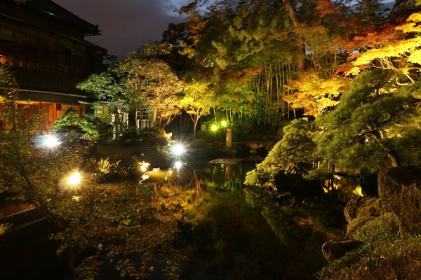 秋の夜長を美し庭園で満喫!紅葉見頃の素敵庭園『旧斎藤家別邸』で『秋の庭園ライトアップ』開催。11月10日~11月18日。