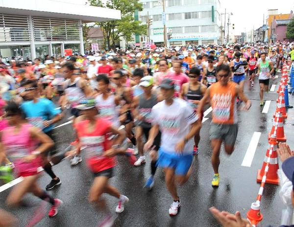 マラソン③