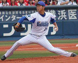 270px-横浜DeNAベイスターズ投手の今永昇太。横浜スタジアムにて。
