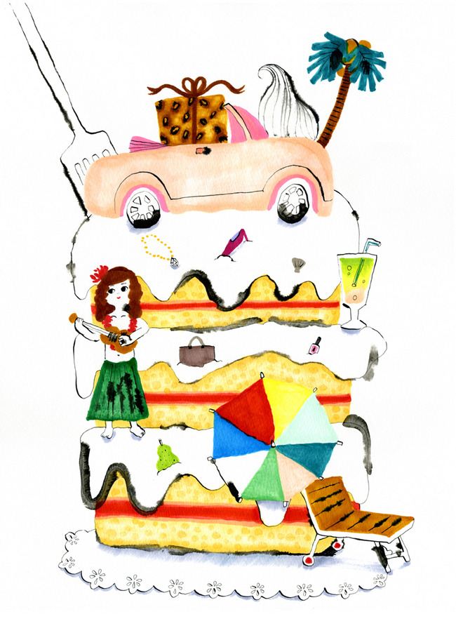 バカンス・ケーキ